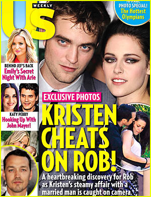 Kristen Stewart Cheats on Rob Pattinson?