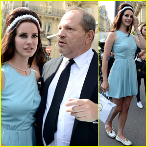 Lana Del Rey Lunches with Harvey Weinstein
