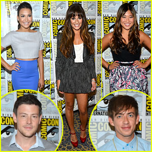 Lea Michele & 'Glee' Cast Hit Comic-Con 2012!