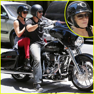 LeAnn Rimes: Harley Ride with Eddie Cibrian!