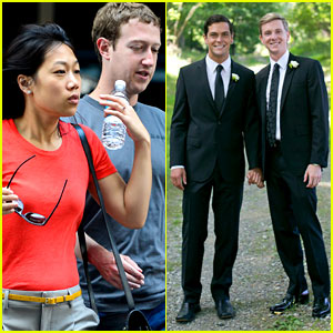 Mark Zuckerberg's Facebook Co-Founder Chris Hughes Gets Married!