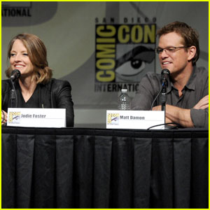 Matt Damon: 'Elysium' Panel At Comic-Con