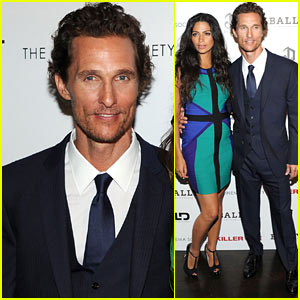 Matthew McConaughey: 'Killer Joe' Screening with Camila Alves!