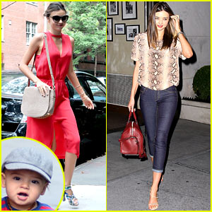 Miranda Kerr & Flynn: Day Out in the Big Apple!