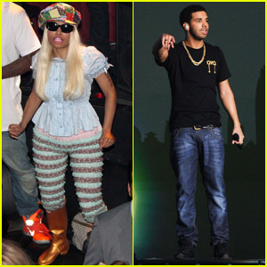 Nicki Minaj: Wireless Festival with Drake - Watch Now!
