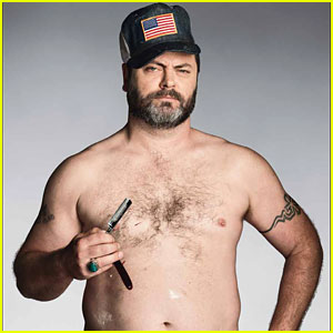 Parks & Recreation's Nick Offerman: Shirtless for 'GQ'!