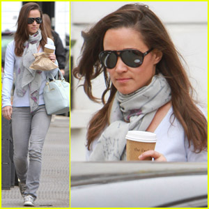 Pippa Middleton: Bluebird Coffee Morning!