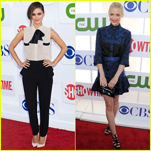 Rachel Bilson & Jaime King: TCA Summer Party 2012!