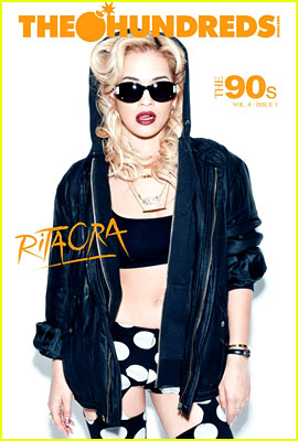 Rita Ora Covers 'The Hundreds' Magazine Vol. 4 Issue 1
