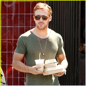 Ryan Gosling: Flore Cafe Lunch To-Go!