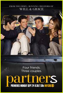 Sophia Bush & Brandon Routh: 'Partners' Poster!