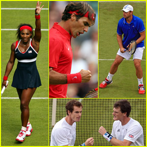 Olympic Tennis Recap: Serena Williams & Roger Federer Advance!