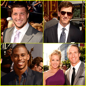 Tim Tebow & Eli Manning - ESPY Awards 2012 Red Carpet