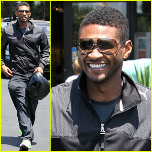 Usher Steps Out After Stepson Kile's Tragic Death