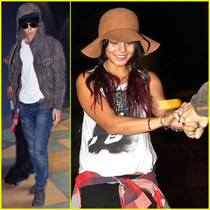 Vanessa Hudgens & Austin Butler: 'Dark Knight Rises' Viewers!