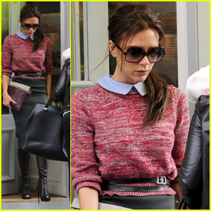 Victoria Beckham: Back in London!