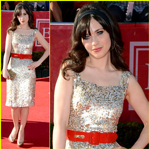 Zooey Deschanel - ESPY Awards 2012 Red Carpet