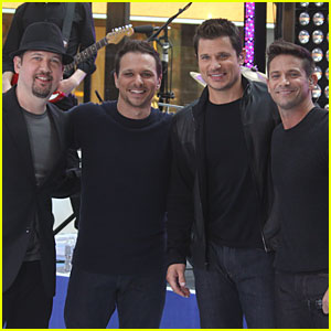98 Degrees Performs On The 'Today' Show