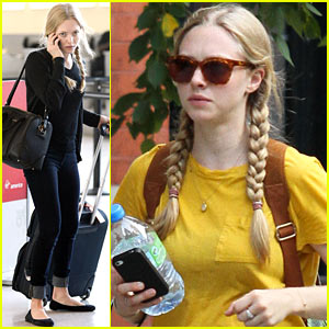 Amanda Seyfried: Soho Stroll with Finn!