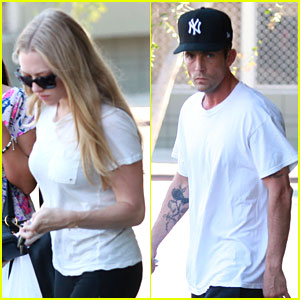 Amanda Seyfried & Desmond Harrington: Tea Bar Twosome!