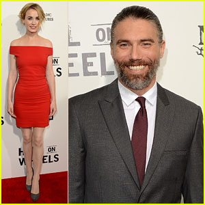 Anson Mount & Dominique McElligott: 'Hell on Wheels' Screening!