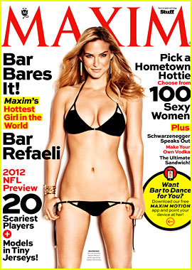 Bar Refaeli: Bikini Babe in 'Maxim' September 2012!