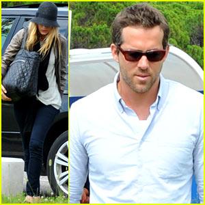 Blake Lively & Ryan Reynolds: Venice Arrival!
