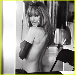 Celine Dion: Topless for 'V Magazine' Feature!