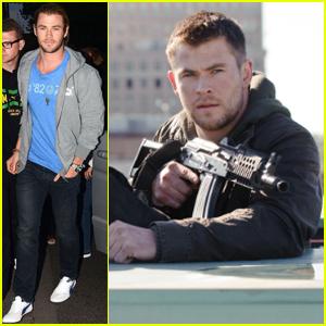 Chris Hemsworth: 'Red Dawn' Stills!