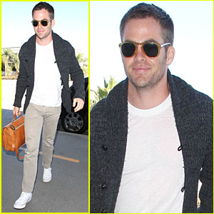 Chris Pine: 'Jack Ryan' Christmas Release Date in 2013!