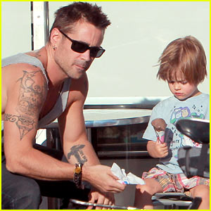 Colin Farrell: Ice Cream with Henry!