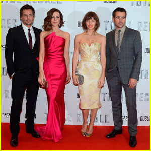 Jessica Biel &#038; Kate Beckinsale: 'Total Recall' Ireland Premiere