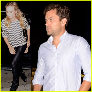Diane Kruger & Joshua Jackson: Mr. Chow Couple!