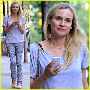Diane Kruger: Solo Movie Date!