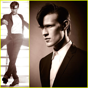 Doctor Who's Matt Smith Channels David Bowie - Exclusive!