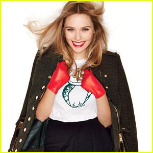 Elizabeth Olsen: 'Glamour' Feature!