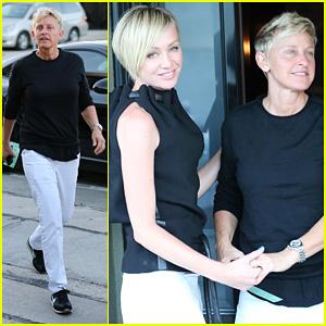 Ellen DeGeneres & Portia de Rossi: Craig's Duo!