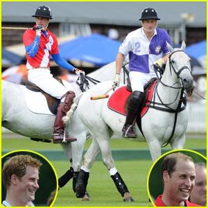 Princes William & Harry: Polo Match!
