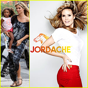 Heidi Klum: Jordache Campaign Revealed!