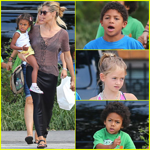 Heidi Klum: Out to Lunch with Kids!
