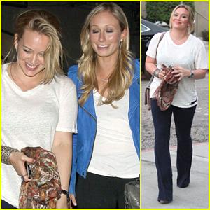 Hilary Duff: Girls Night at INC!
