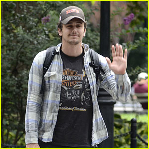 James Franco: Washington Square Park Stroll