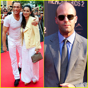Jason Statham: 'Expendables 2' Madrid Premiere!
