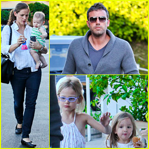 Jennifer Garner &#038; Ben Affleck: Ice Cream with the Kids!