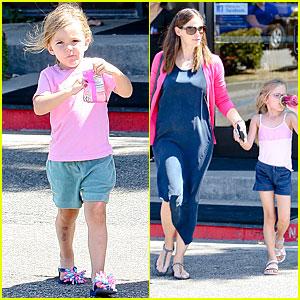 Jennifer Garner: Gymnastics with Violet and Seraphina!