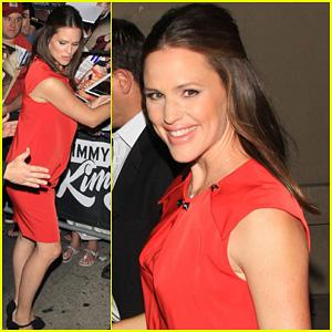 Jennifer Garner: 'Jimmy Kimmel Live' Appearance!