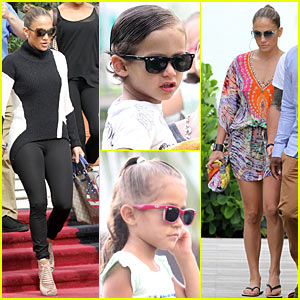 Jennifer Lopez: South Beach with Max &#038; Emme!