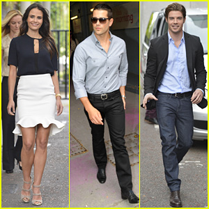 Jordana Brewster &#038; Jesse Metcalfe: ITV Studios for 'Dallas'!