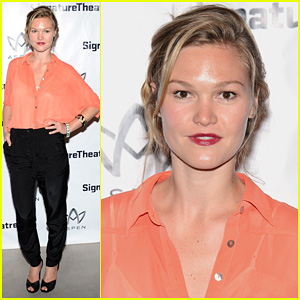 Julia Stiles: 'Heartless' Opening Night Party!