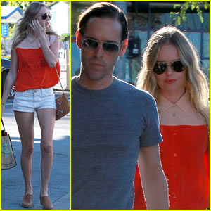 Kate Bosworth & Michael Polish: Bristol Farms Shoppers!